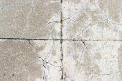 Gray concrete blocks pavement Royalty Free Stock Images
