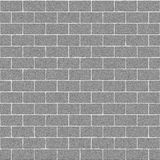 Gray Concrete Brick Wall Seamless Texture. Computer generated background Stock Illustration