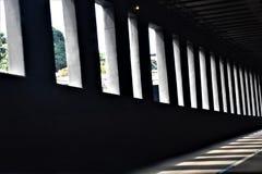 Gray Concrete Building Stock Photo