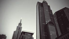 Gray Concrete Buildings Stock Photography