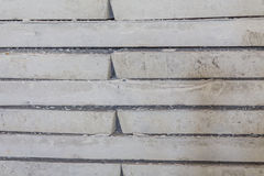 Gray concrete construction block Stock Images