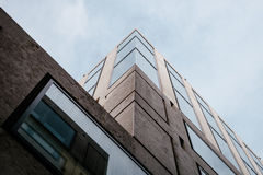 Gray Concrete High Rise Building Stock Photography
