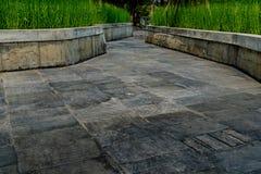 Gray Concrete pathway Stock Photo
