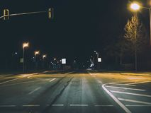 Gray Concrete Road Royalty Free Stock Image