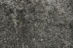 Gray concrete stone wall, natural grainy texture. Grunge background, panorama Stock Photography