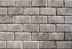 Gray concrete tiles Royalty Free Stock Images