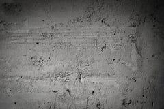 Gray Concrete Of Wall Background oscuro Fotos de archivo