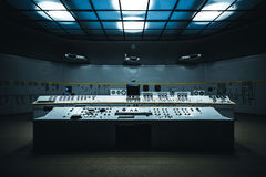 Gray Control Panel on Dome Room Royalty Free Stock Images