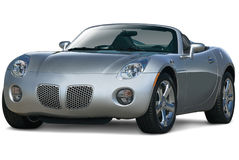 Gray Convertible Front Stock Photography