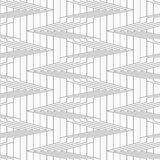 Gray corners on continues lines Royalty Free Stock Image