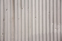 Gray Corrugated Metal Background Texture Royalty Free Stock Image