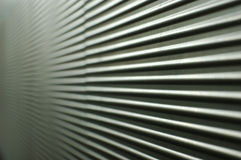 Gray corrugated wall Royalty Free Stock Images