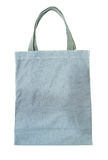 Gray cotton bag Royalty Free Stock Image