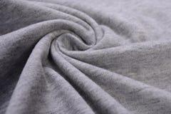 Gray cotton cloth Royalty Free Stock Photos