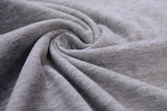Gray cotton cloth Royalty Free Stock Photos