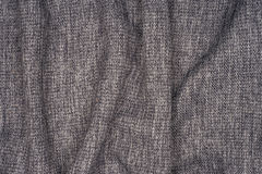 Gray cotton fabric Stock Photos