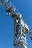 Gray crane titan in Nantes France Stock Images