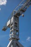 Gray crane titan in Nantes France Royalty Free Stock Image
