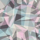 Gray crumpled abstract pattern.Vector eps Royalty Free Stock Photography