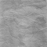 Gray crumpled paper for background Royalty Free Stock Photos