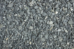 Gray crushed rock for construction texture Stock Photo