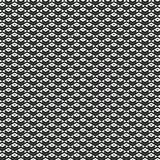 Gray cubic figure in repeated patterns. Repeated geometric figures to be used as wallpaper or in designs on fabrics or any other support Royalty Free Stock Photo