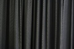 Gray Curtain Stock Image