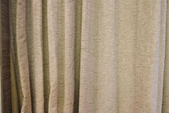Gray curtain background Royalty Free Stock Photography
