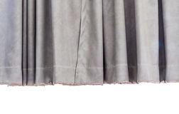 Gray curtain background Royalty Free Stock Photo