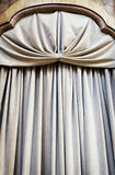 Gray curtain Stock Images
