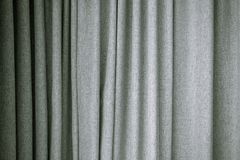 Gray curtain texture Stock Photos