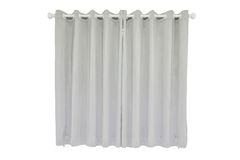 Gray curtains Royalty Free Stock Photo