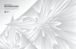 Gray Curve Abstract-achtergrond, witte textuur, behang, oppervlakte, banner, de lay-outmalplaatje van het Dekkingsontwerp, achter Royalty-vrije Illustratie
