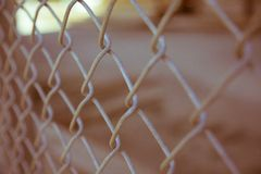 Gray Cyclone Wire Stock Photos