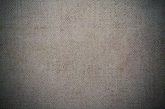 Gray dark canvas texture or background Stock Photos