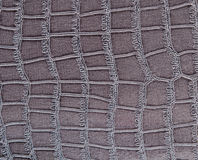 Gray, dark leather background Royalty Free Stock Image