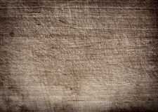 Gray dark scratched wooden cutting, chopping board. Wood texture. Royalty Free Stock Photography