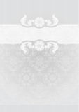 Gray Decorative Frame Stock Photography