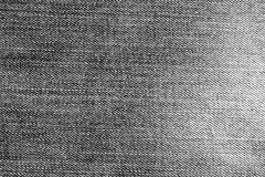 Gray denim cloth pattern. Royalty Free Stock Images