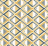 Gray di giallo del modello del fondo del pesce Fotografia Stock Libera da Diritti