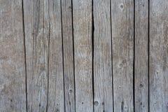 Gray di legno del fondo Fotografie Stock Libere da Diritti