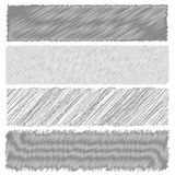 Gray Diagonal Strokes Drawn Background Photographie stock libre de droits