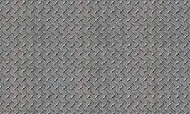 Gray Diamond Plate Fotografía de archivo libre de regalías
