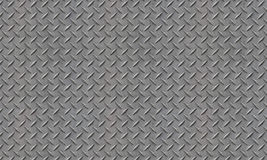 Gray Diamond Plate Royalty Free Stock Photography