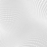 Gray Distort Halftone Square Background ligero Imágenes de archivo libres de regalías