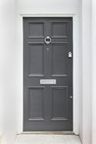 Gray door Royalty Free Stock Photo