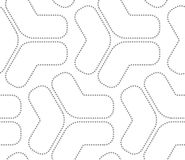 Gray dotted tetrapods Stock Image