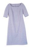 Gray dress isolated stock photos