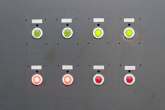 Gray electrical panel Royalty Free Stock Photo