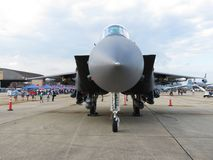Gray F15 Eagle Air Superiority Jet Fighter Royalty Free Stock Images